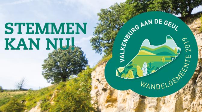 Stem op wandelgemeente Valkenburg aan de Geul